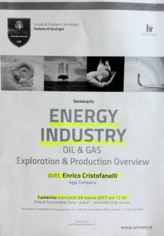 ENERGY INDUSTRY OIL & GAS EXPLORATION & PRODUCTION OVERVIEW
