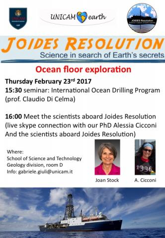 Ocean floor exploration Thursday Februray 23rd 2017