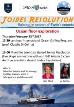 Ocean floor exploration Thursday Februray 23rd 2017